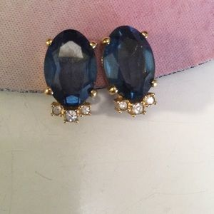 Christian Dior clip on earrings